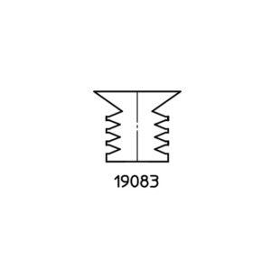 Pièce détachée CUIR - Soufflet ventouse ref 19083