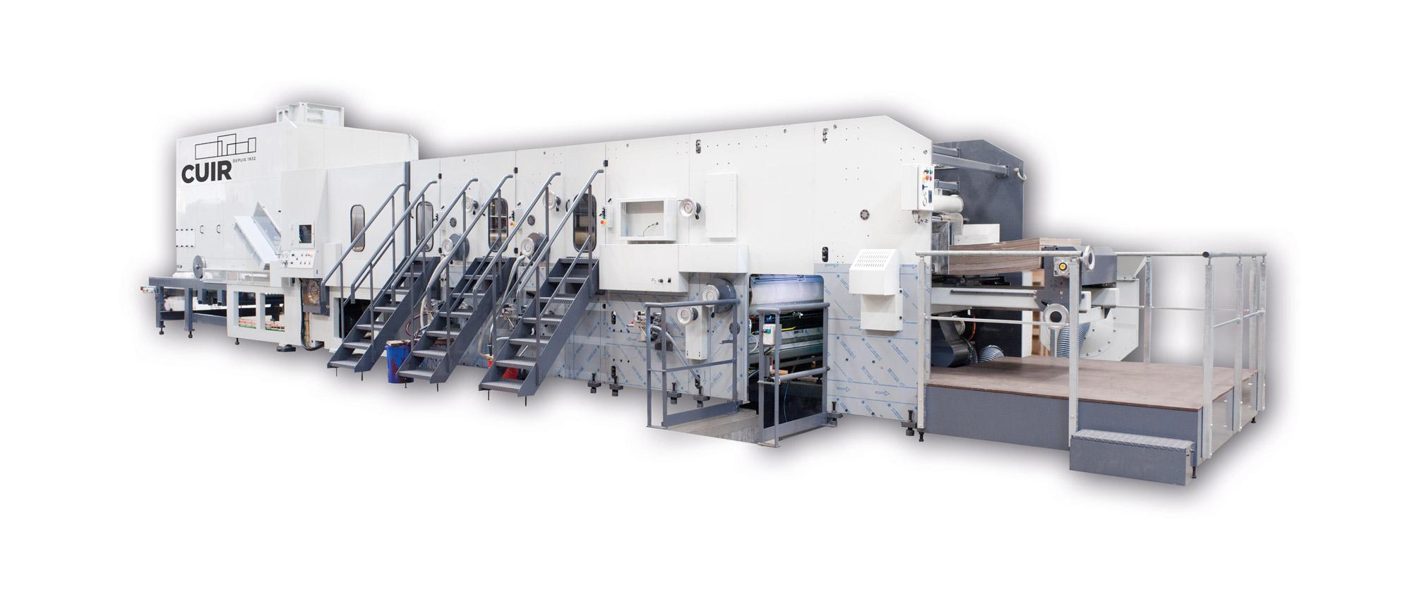 MRV I/O - RDécoupeuse à plat avec groupes imprimeurs pour intérieur boîte ou extérieur boîte (dessus ou dessous) en qualité supérieure