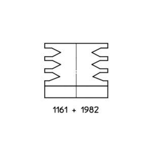 Pièce détachée CUIR - Soufflet combiné ref 44604